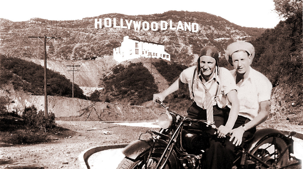 Hollywoodland bikers