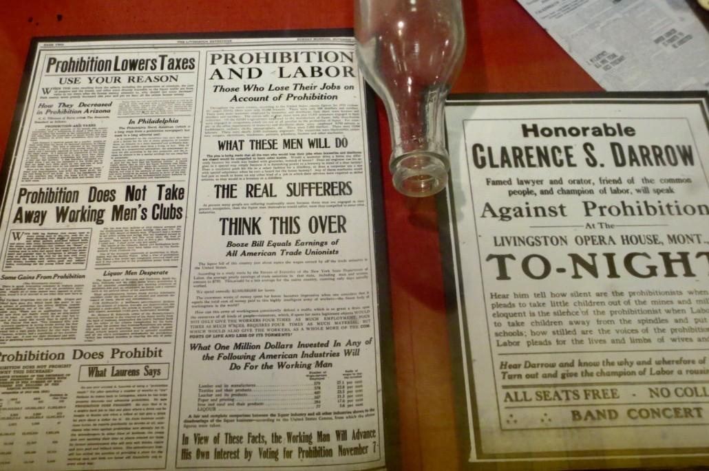 Prohibition fliers