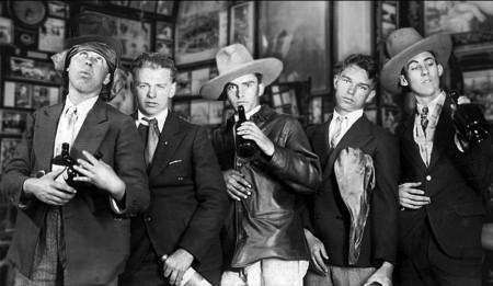 Five drunks ca 1929