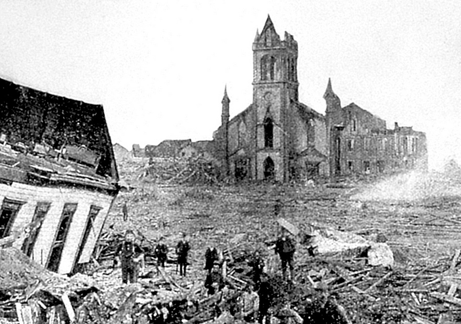 Galveston 1900 flood 1