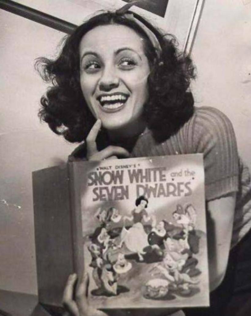 Adrianna Caselotti in the 1940s