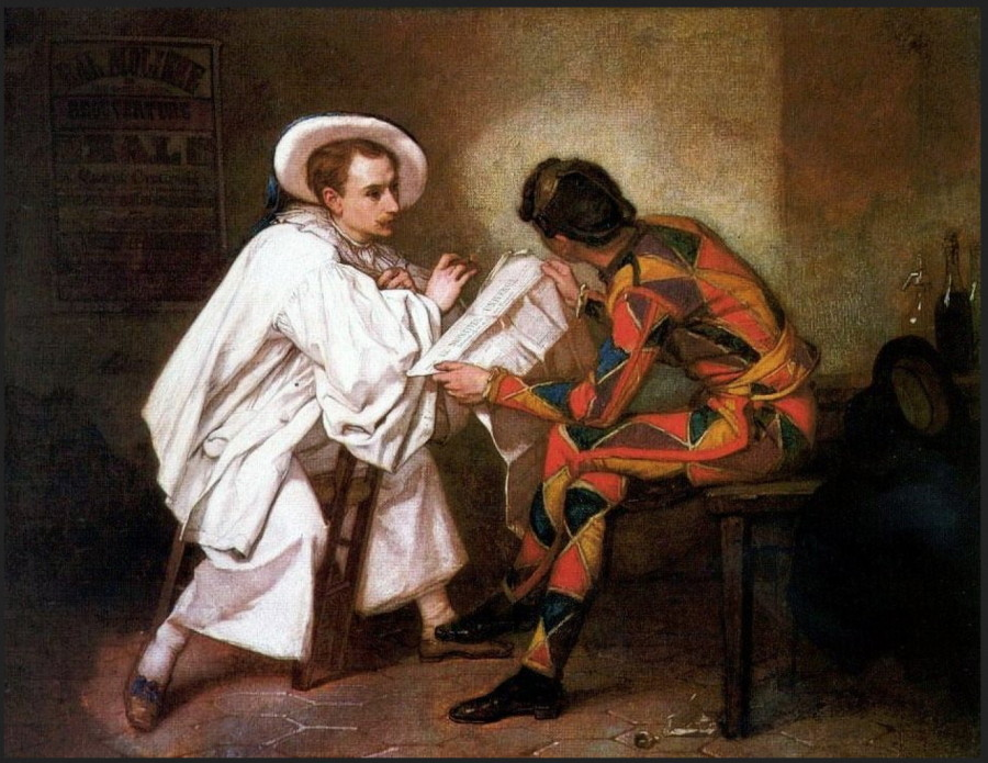 Thomas Couture -Pierrot the Politician