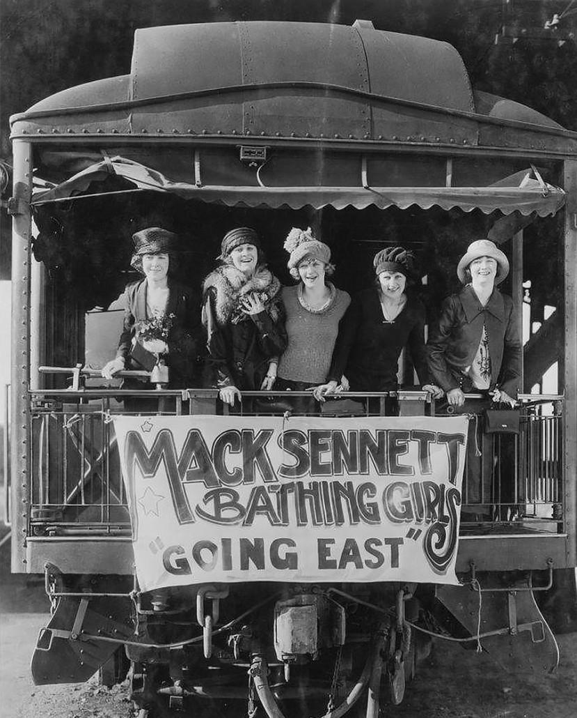 Sennett bathing beauty train