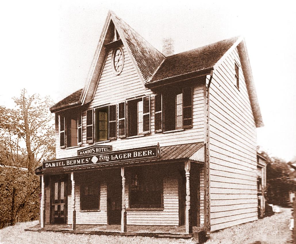 Rambo's Hotel in 1907-clr4