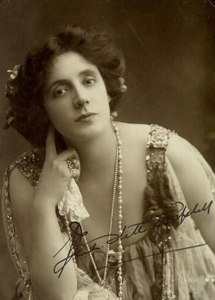 Mrs Patrick Campbell 1890s copy