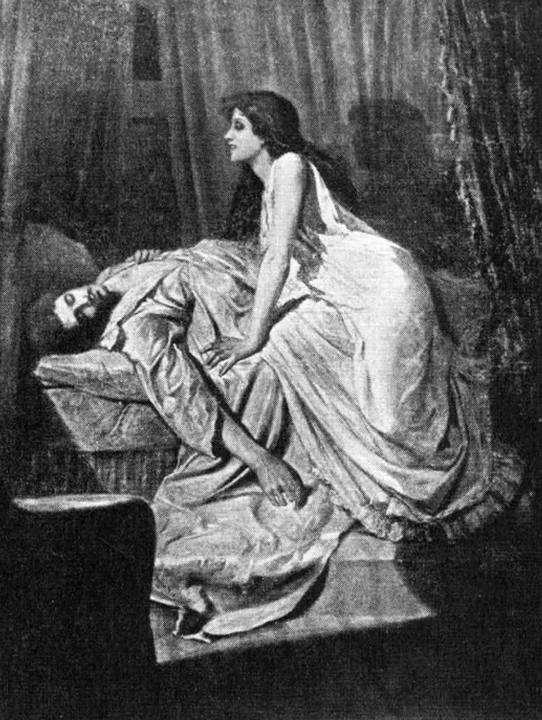 The Vampire painting